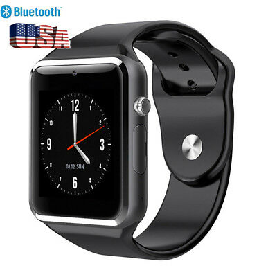 Touch Screen Smart Watch Wrist Bluetooth SIM Card Camera For Android New
