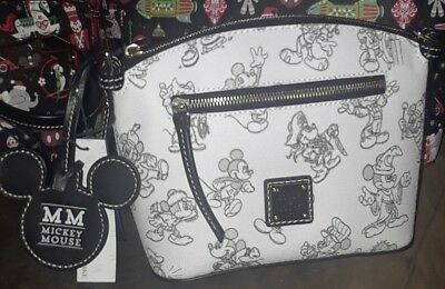 NEW 2018 Disney Parks Exclusive Dooney & Bourke Purse Bag crossbody Mickey 90th