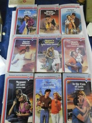 Harlequin American Romance Book Lots Love Sexy