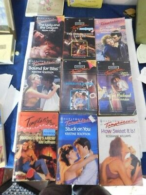 Harlequin Temptations Lot Paperback Love Romance Sexy