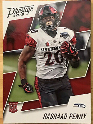 2018 Panini Prestige Rookie Football Cards Singles Rc College Uniforms You Pick