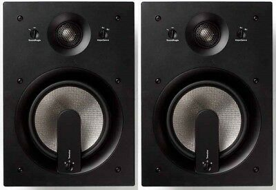 Jamo IW408 8-inch In-Wall Speakers - Pair (White)