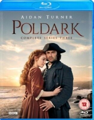 Poldark Season 3 Series Three Third (Aidan Turner) New Region B Blu-ray