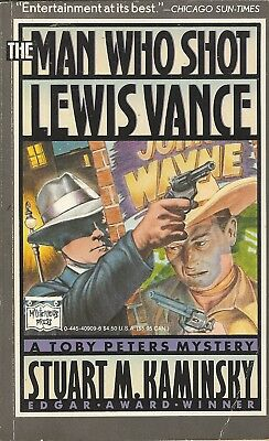 The Man Who Shot Lewis Vance-A Toby Peters Mystery-John Wayne-Charlie Chaplin-1S