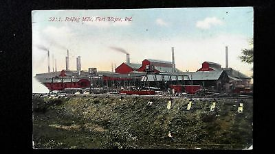 Fort Wayne Indiana IN ~ Rolling Mills / Steel Mill 1912
