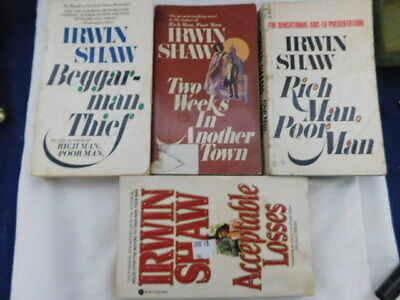 Irwin Shaw Book Lots Suspence Mystery