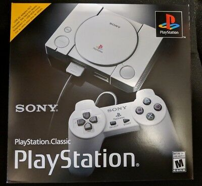Sony Playstation Classic Console (Gray) |BRAND NEW FACTORY SEALED
