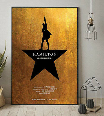 Hamilton An American Musical Poster 11-36 Inches Poster Without Frame