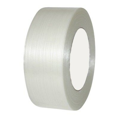 """36 Rolls Economy Filament Strapping Tape 1/2"""" x 60 Yards 3.9 MIL Reinforced"""