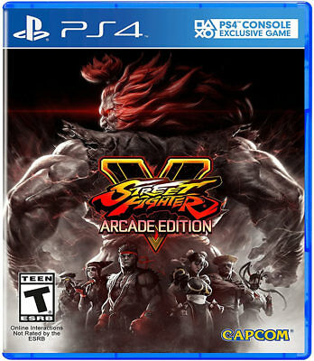 Street Fighter V: Arcade - Standard Edition PS4 New PlayStation 4, PlayStation 4
