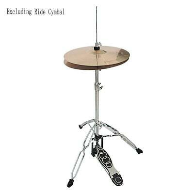 Drum High Hat Stand - Double Braced Chrome New With Pedal