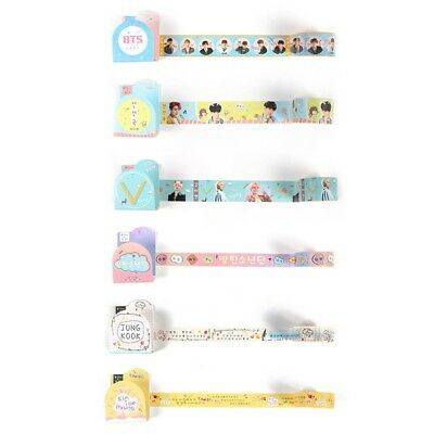 BTS Washi Tape Paper Maksing Cute Scrapbook Stickers Photo Washi Tape DIY New