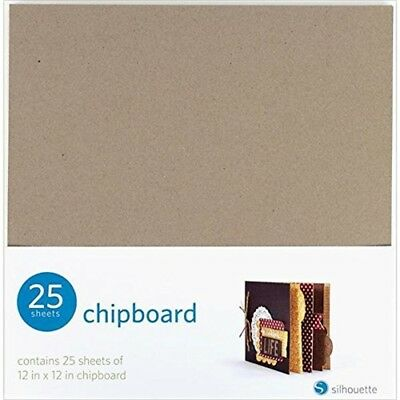Silhouette Of America Silhouette Chipboard, 12 By 12-inch, 25/pack - Chipboard