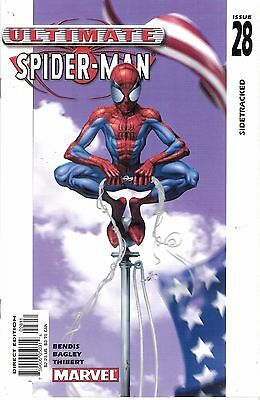 Ultimate Spider-man #28 Dec. 2002 Marvel Comics Sidetracked Brian Michael Bendis