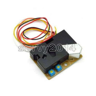 DSM501A Dust Sensor Allergic Smoke Particles Sensor Module for Air Condition