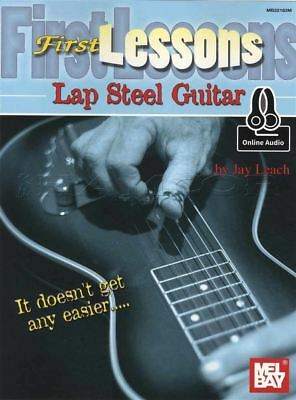 First Lessons Lap Steel Guitar TAB Music Book and Audio Learn How To Play Method