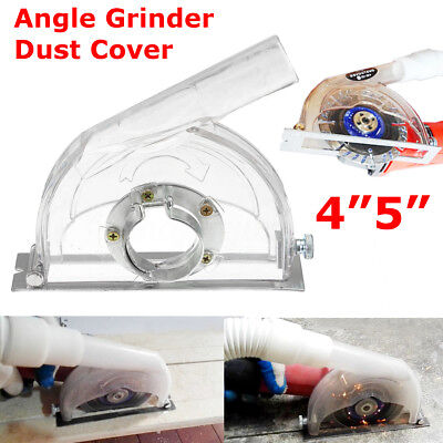 Grinding Dust Cover Transparent  For 4'' 5''Angle Grinder &3''/4''/5'' Saw Blade