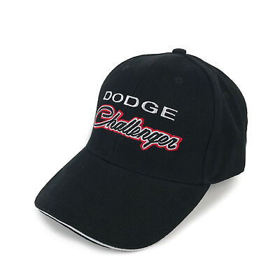 Dodge Classic Challenger Black Hat Cap -  SHIPPED IN A BOX - R/T SRT Hellcat