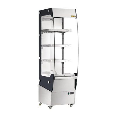 Buffalo Slimline Heated Multideck Display 220 Litres 494mm Wide CW146 Catering