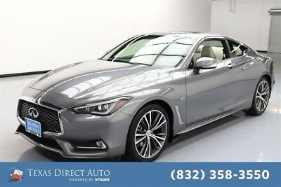 2017 Infiniti Q60 3.0t Premium Texas Direct Auto 2017 3.0t Premium Used Turbo 3L V6 24V Automatic AWD Coupe