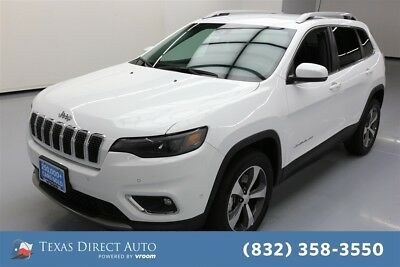 2019 Jeep Cherokee Limited Texas Direct Auto 2019 Limited Used Turbo 2L I4 16V Automatic 4WD SUV