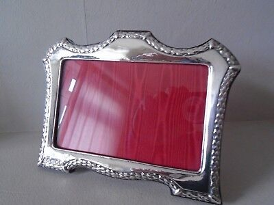 Beautiful  Landscape View Quality 999 High Grade Silver Hallmarked Photo Frame