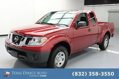2018 Nissan Frontier S Texas Direct Auto 2018 S Used 2.5L I4 16V Automatic RWD Pickup Truck