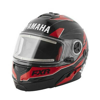 Yamaha - FXR Fuel Electric Shield Red Adult Snowmobile Helmet - 2X-Large