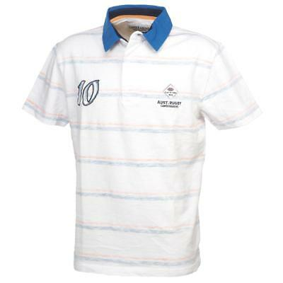 Polo manches courtes Cambe sport N 10  raye clair Blanc 38033 - Neuf
