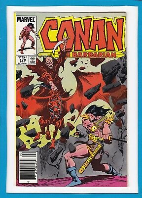 "Conan The Barbarian #179_February 1986_Very Fine+_""the End Of All There Is""!"