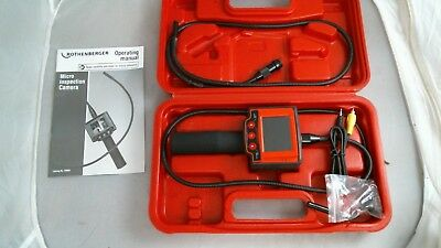 ROTHENBERGER Flexible Inspection Camera with Monitor 69004