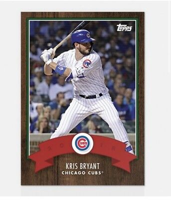 2018 Topps Advent Calendar Kris Bryant #14 Cubs PRESALE