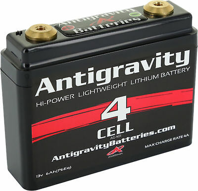 Small Case Lithium Ion Battery AG-401 120 CA Antigravity - Motorcycle Apps.