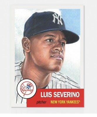2018 Topps Living Set Luis Severino #115 Yankees PRESALE