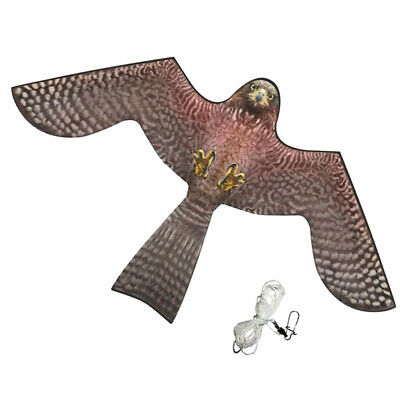 Hawk Kite Realistic Flying Bird Hawk Pigeon Decoy Pest Control Garden Scarer