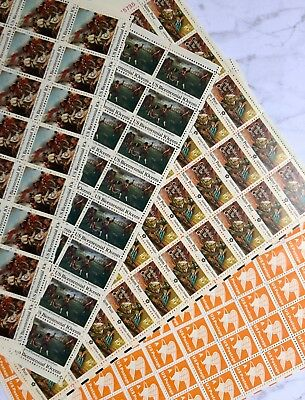 Discount US Unused Postage Stamp Lot | Full Sheets | $26.40 Face Value