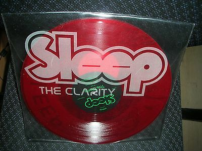 Sleep **the Clarity **brand New Limited Red Colored Record Lp Vinyl