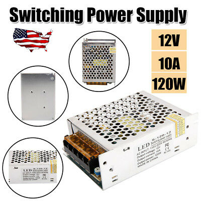 Universal 12V 10A 120W Switching Power Supply Source Transformer