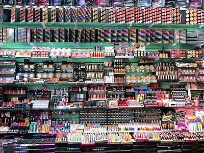 36 MIXED COSMETICS BRANDED MAKE UP PARTY BAG WHOLESALE BUNDLE JUST 28p EACH ITEM