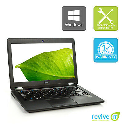 Custom Build Dell Latitude E7250 Laptop  i7 Dual-Core Min 2.60GHz B v.WAA
