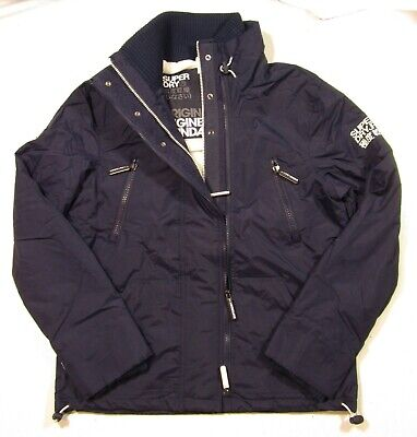 Superdry Men's Polar SD-Wind Attacker Nautical Navy Windattacker Full Zip Jacket