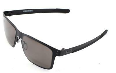 399f0167e1 New Oakley Sunglasses Holbrook Metal Matte Blk w Prizm Grey  4123-1155