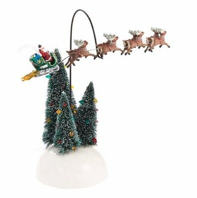 Department 56 Christmas Vacation Animated Flaming Sleigh Figurine 4030744 New