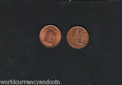 Singapore 1 Cent Km1 1967-1985 Fountain First Coin Currency Money Asean Asia
