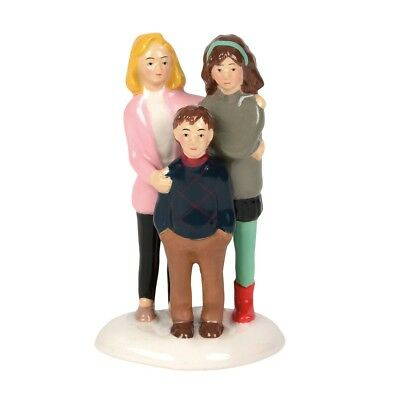 Department 56 Christmas Vacation Village Alleluia Family Figurine 6000645 New