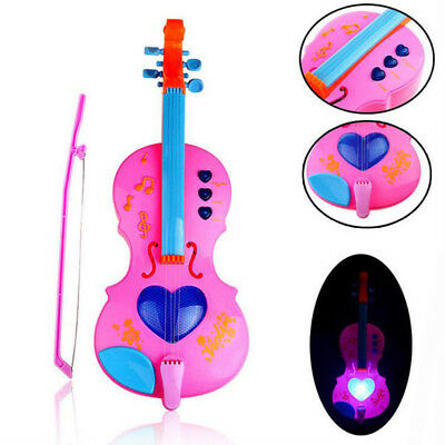 KIDS Music Instrument Toy Children Musical Gift Simulation Electric Violin/Pipa