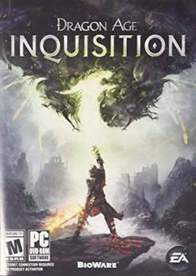 Dragon Age Inquisition (Pc) Include Gioco Disco, Art & Inserti No Case Relitto