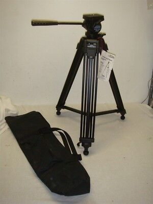 "Davis & Sanford Provista 6510 60"" Professional Video Tripod With Fluid Head"