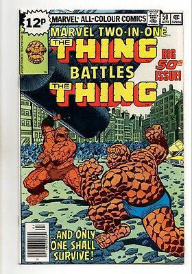 Marvel Two-In-One No 50 Mar 1979 (VFN) (8.0) The Thing Battles The Thing
