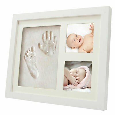 Baby Hand & Foot Print  2D&3D Photo Frame Kit Unique Keepsake Christening Gifts